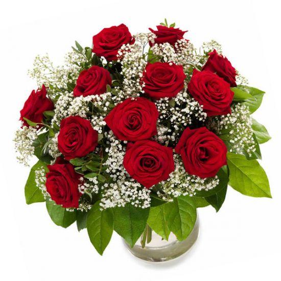 """Красные розы """"Признание в любви"""""""